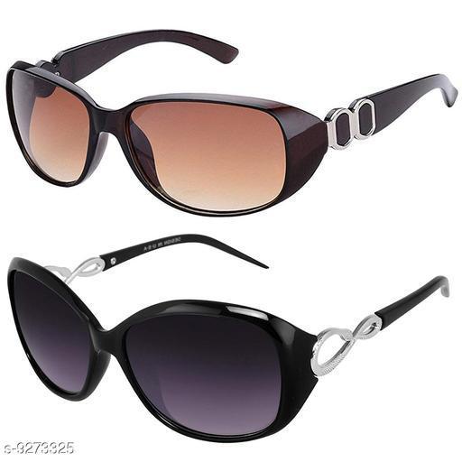 Attractive Women's Combo Set Multicolor Sunglasses