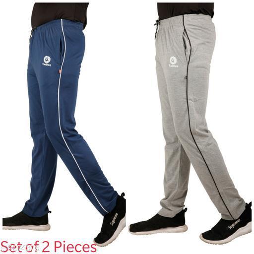 Men's Regular Fit Track Pant (Set of 2 Pieces)