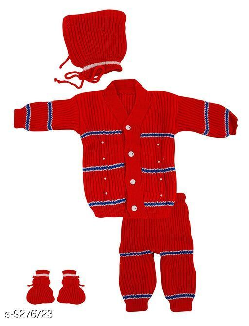 Stylish Boy's & Girl's Casual Sweater Set