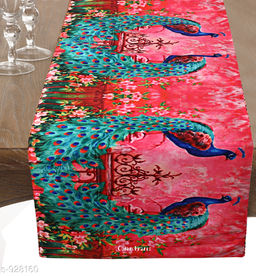 Designer Poly Silk Table Runner