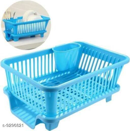 Others New Usefull Dishwashing   *Material * Plastic  *Type* Dish Drainer  *Multipack* 1  *Size* Free Size  *Sizes Available* Free Size *    Catalog Name:  New Usefull Dishwashing  CatalogID_1622808 C84-SC1282 Code: 934-9296821-