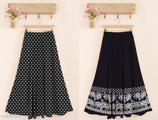 Digital Printed Women's Skirt