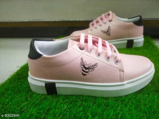 Casual Shoes GIRLISH FLAT SNICKERS  *Material* Synthetic  *Sole Material* Rubber  *Sizes*  IND-5  *Sizes Available* IND-5 *    Catalog Name: Styles Unique Women Casual Shoes CatalogID_1624295 C75-SC1067 Code: 885-9302441-