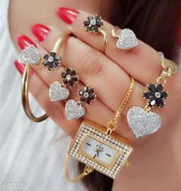 Beautiful American Diamond Jewelry Set