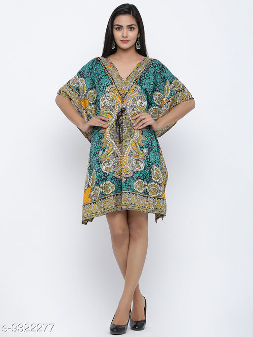 Maiyee Polyester Kaftan / Night Dress