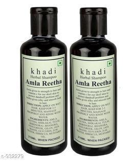 Khadi Amla Reetha shampoo 420ml ( Pak of 2 )