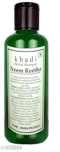 Khadi Neem Reetha shampoo 210ml