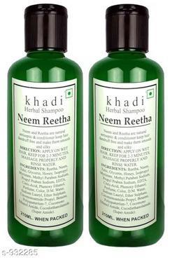 Khadi Neem Reetha shampoo 420ml ( Pack of 2 )
