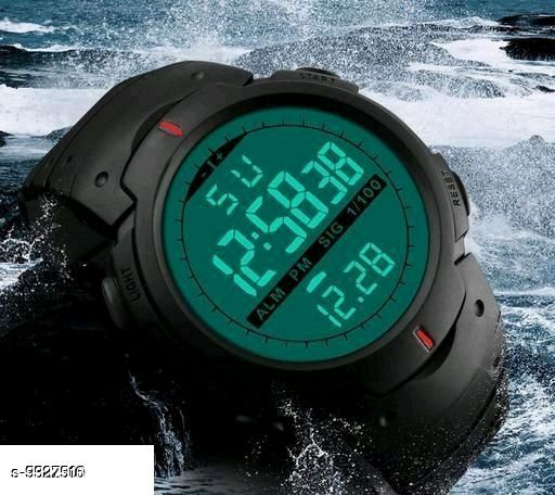 Classic Men's Digital Watch