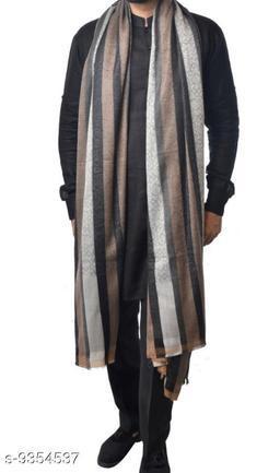 Stripe with self all over designer Shawl