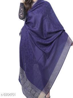Melange Palla with floral design Shawl