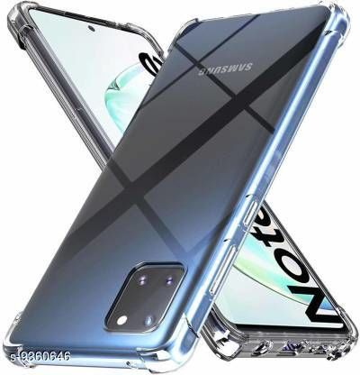 Screen Guards New Advanced Mobile Screen Guard Kelpuj Back Cover for Samsung Galaxy Note 10 (Transparent, Dual Protection)  *Sizes Available* Free Size *    Catalog Name: New Advanced Mobile Screen Guards CatalogID_1639208 C99-SC1385 Code: 102-9360646-