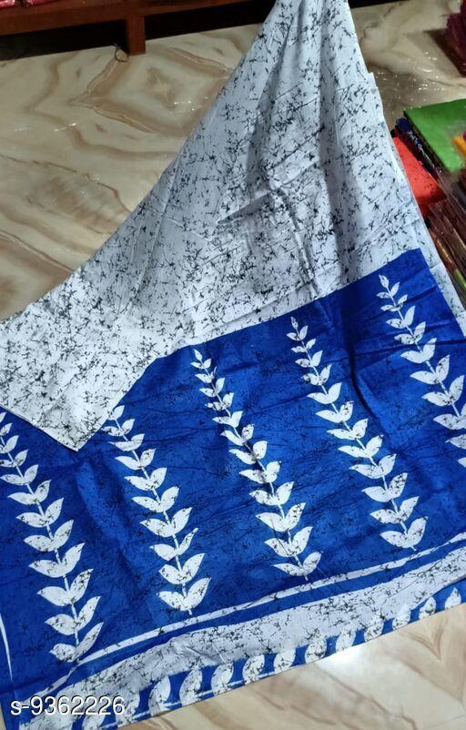 Fancy Mulmul Cotton Saree