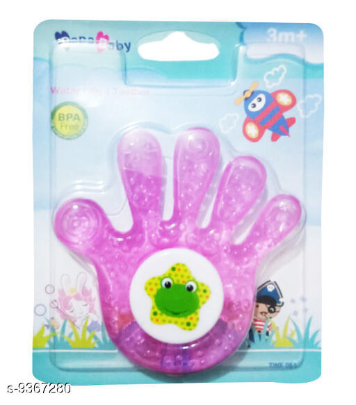 Baby Mats & Bed Protector Water Filled Teether For Baby  *Multipack * Single  *Sizes Available* Free Size *    Catalog Name: Check out this trending catalog CatalogID_1640882 C142-SC1730 Code: 802-9367280-