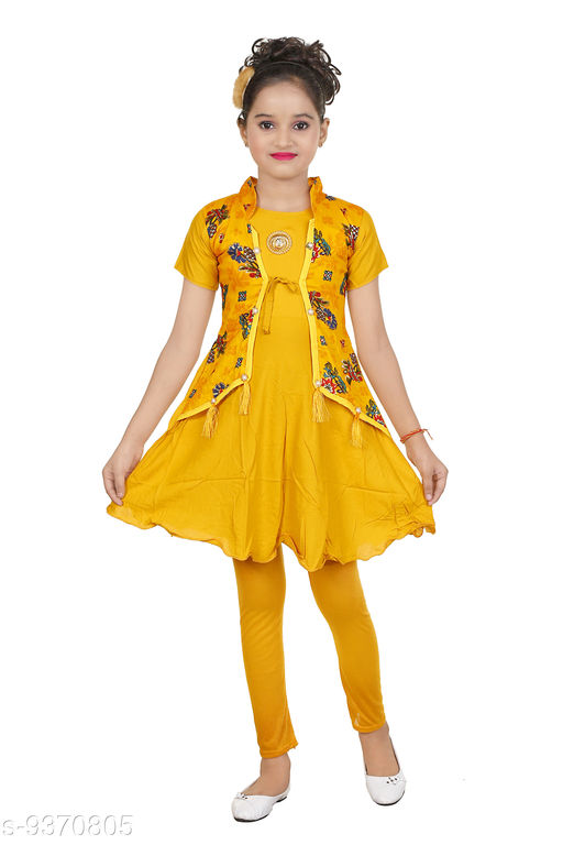 Kurta Sets Girls kurti legging set Girls kurti legging set  *Sizes Available* 4-5 Years, 5-6 Years, 6-7 Years *   Catalog Rating: ★3.5 (121)  Catalog Name: Check out this trending catalog CatalogID_1641758 C61-SC1140 Code: 582-9370805-
