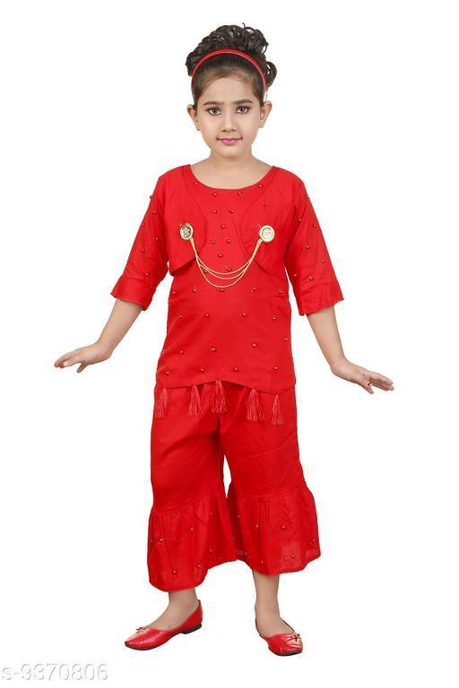 Kurta Sets Girls kurti sharara set Girls kurti sharara set  *Sizes Available* 4-5 Years, 5-6 Years, 6-7 Years *   Catalog Rating: ★3.5 (121)  Catalog Name: Check out this trending catalog CatalogID_1641758 C61-SC1140 Code: 523-9370806-