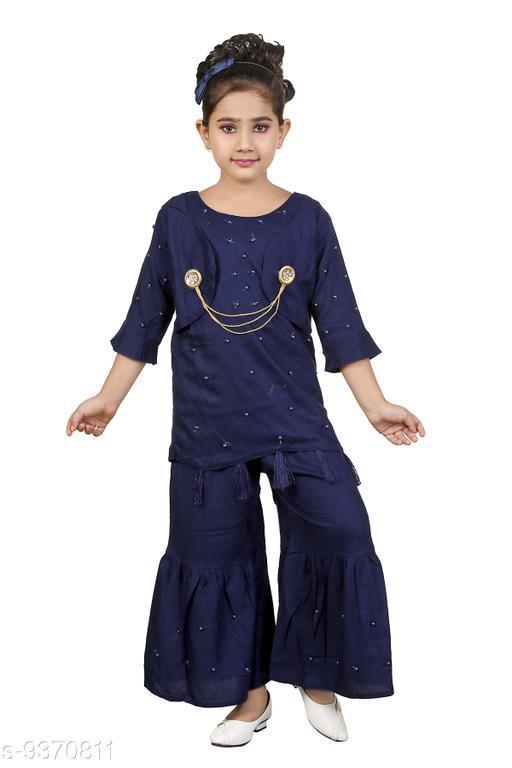 Kurta Sets Girls kurti sharara set Girls kurti sharara set  *Sizes Available* 4-5 Years, 5-6 Years, 6-7 Years *   Catalog Rating: ★3.5 (121)  Catalog Name: Check out this trending catalog CatalogID_1641758 C61-SC1140 Code: 523-9370811-