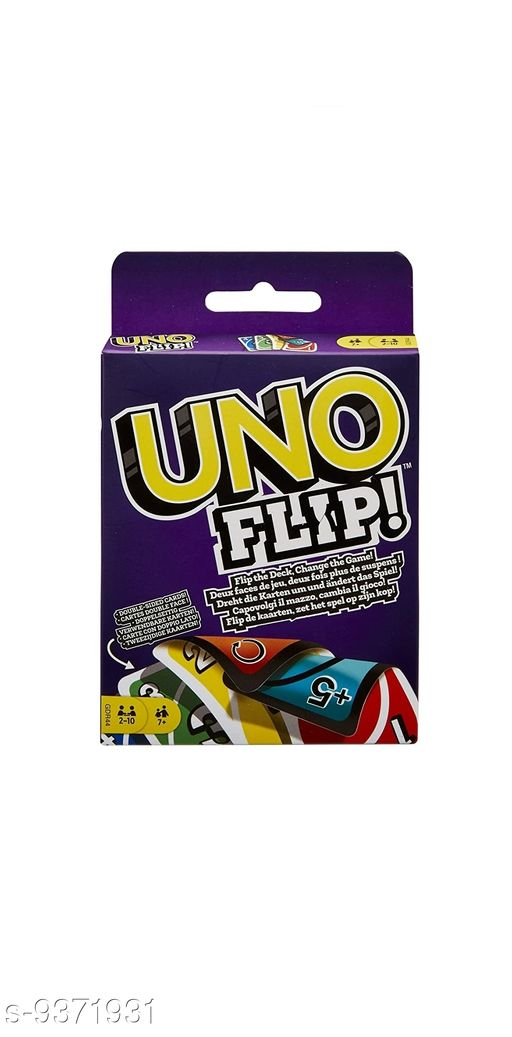 Dolls Uno Flip Card Game   *Material* Plastic  *Multipack* 1  *Sizes*  Free Size  *Sizes Available* Free Size *    Catalog Name: Wonderful Unisex Dolls CatalogID_1642039 C86-SC1291 Code: 842-9371931-