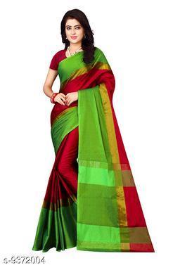 Trendy Attractive Silk Women's Saree