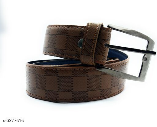 Attractive Leatherette Belts For Mens