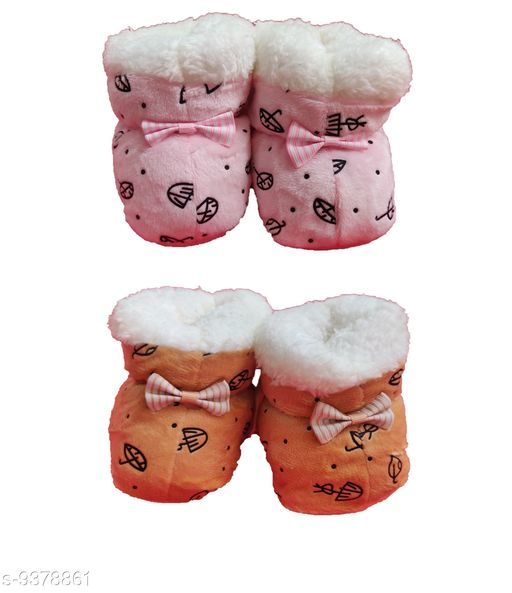 Tiny Tycoonz Soft and Comfortable Baby Booties (0-12 months)