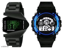 Colorful designed combo watch