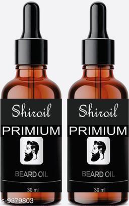 SHIROIL New Improved PowerFull Beard Growth, Moustache Oil- Hair Oil