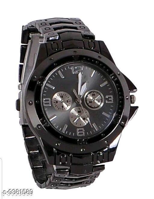 Metal Analog Men's Watches