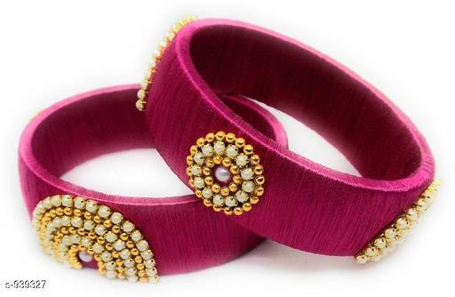 Trendy Silk Thread Bangle