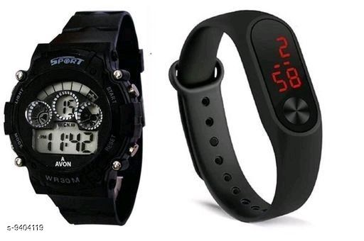 Digital Rubber Kid's Watches
