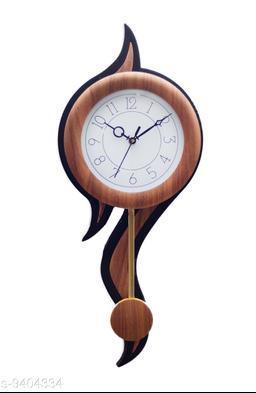 Aarav Arts Pendulum Analog Wall Clock