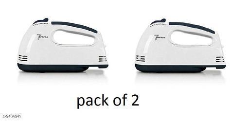 Casper Crown  mixer for ice cream  High Speed 300-Watt Hand Mixer with 7 Speed (Multi Colour ) (Pack of 2)