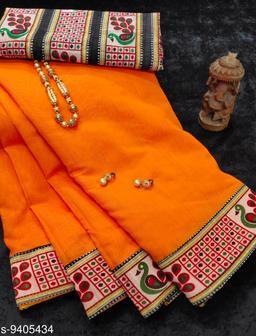 chanderi pretty sarees