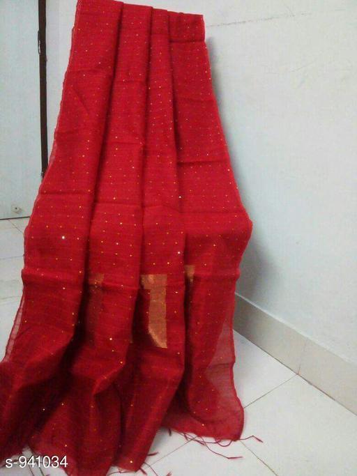 Attractive Handloom Cotton Silk Saree