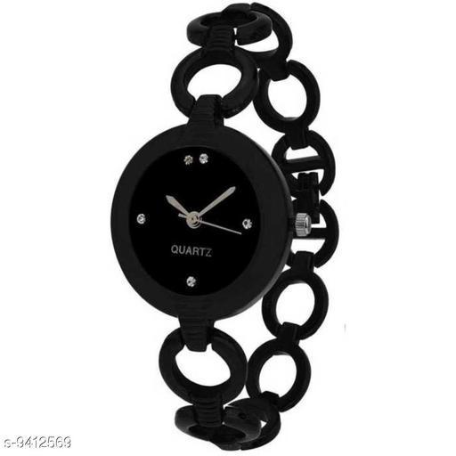 KicK New Stylish Fashion Designer Black Color dial With Designer Analog Analog Women Watch