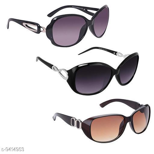 Fashionable Sunglasses For Women & Girls (Pack Of 3)