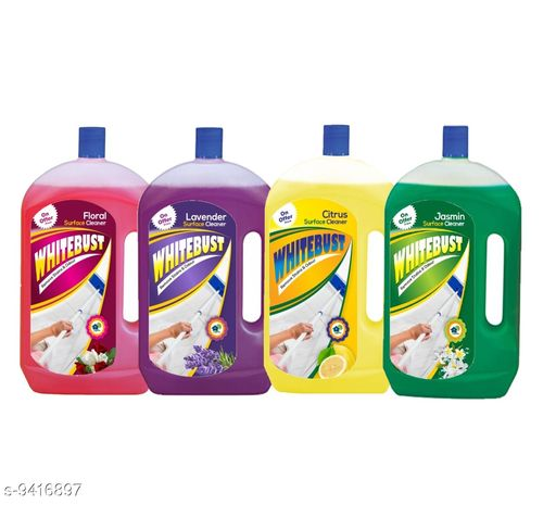 Floor cleaners Floor Cleaner   *Product Name* WhiteBust Floor Cleaner  *Brand* WhiteBust  *Pack* 4  *Capacity* 975ml  *Sizes Available* Free Size *    Catalog Name: Floor Cleaner  CatalogID_1653165 C89-SC1746 Code: 939-9416897-