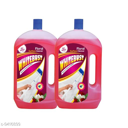 Floor cleaners Floor Cleaner   *Product Name* WhiteBust Floor Cleaner  *Brand* WhiteBust  *Pack* 2  *Capacity* 975ml  *Sizes Available* Free Size *    Catalog Name: Floor Cleaner  CatalogID_1653165 C89-SC1746 Code: 943-9416899-