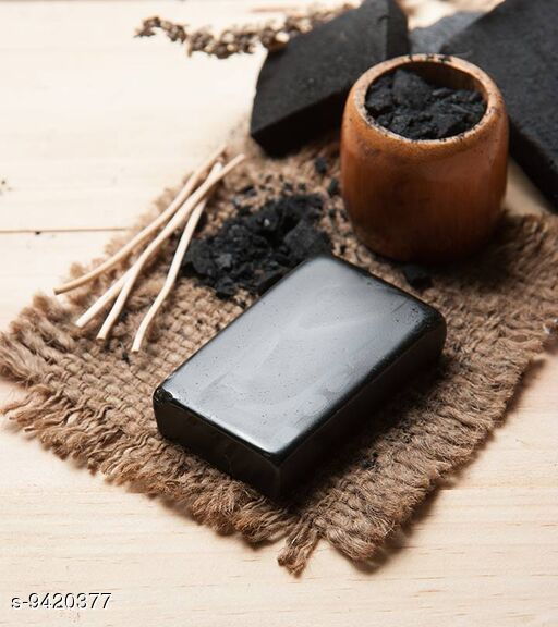 Home made Charcoal Soap
