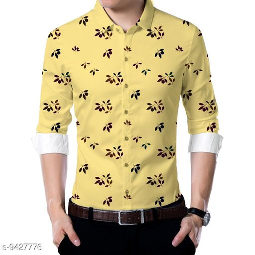 Shirts  Men shirt Fabric(Untiched)  *Fabric* Rayon  *Pattern* Printed  *Multipack* 1  *Sizes*   *Sizes Available* 2.5m *    Catalog Name: Urbane Partywear Men Shirt Fabric CatalogID_1655724 C59-SC1174 Code: 186-9427776-