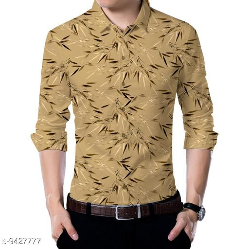 Shirts  Men shirt Fabric(Untiched)  *Fabric* Rayon  *Pattern* Printed  *Multipack* 1  *Sizes*   *Sizes Available* 2.5m *    Catalog Name: Urbane Partywear Men Shirt Fabric CatalogID_1655724 C59-SC1174 Code: 186-9427777-