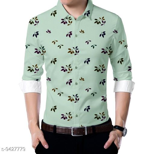 Shirts  Men shirt Fabric(Untiched)  *Fabric* Rayon  *Pattern* Printed  *Multipack* 1  *Sizes*   *Sizes Available* 2.5m *    Catalog Name: Urbane Partywear Men Shirt Fabric CatalogID_1655724 C59-SC1174 Code: 186-9427779-
