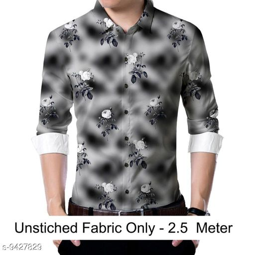Active Tshirts  Men shirt Fabric(Untiched)  *Fabric* Rayon  *Pattern* Printed  *Multipack* 1  *Sizes*   *Sizes Available* 2.5m *    Catalog Name: Trendy Graceful Men Shirt Fabric CatalogID_1655737 C70-SC1403 Code: 186-9427829-