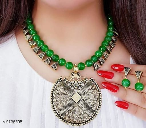 Allure Bejeweled Women Necklace