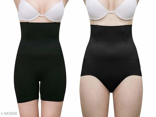 Shapewear Comfy Spandex Ladies Shapewear (Pack Of 2)  *Fabric* Spandex  *Size*   *Description* It Has 2 Piece Of Women's Shape Wear  *Pattern* Solid  *Sizes Available* Free Size *   Catalog Rating: ★4 (713)  Catalog Name: Trendy Spandex Ladies Shapewear Vol 1 CatalogID_111265 C76-SC1050 Code: 067-943298-