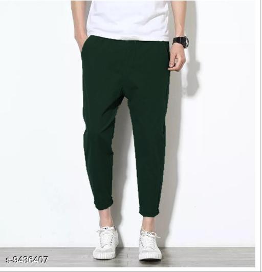 Fashcart Green Trouser For Men