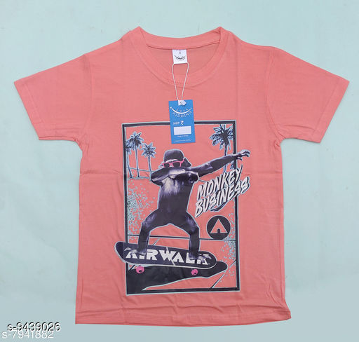 Tshirts & Polos just kidding  *Fabric* Cotton  *Multipack* Single  *Sizes*  7-8 Years  *Sizes Available* 7-8 Years *    Catalog Name: Cutiepie Fancy Boys Tshirts CatalogID_1658091 C59-SC1173 Code: 502-9439026-