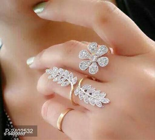 American Brass Finger Ring