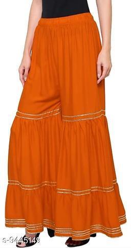 Rayon Cotton Blend Sharara
