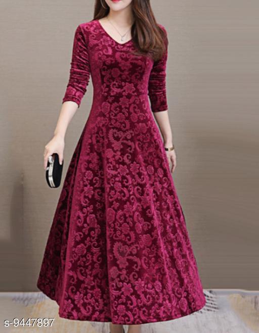 Beautiful Women's Wool Dress